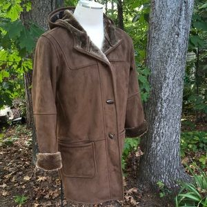 Fitz-Wright 12739 hooded fully lined coat (used)